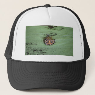 Bengal Tiger Swimming Trucker Hat