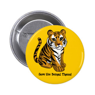 Bengal Tigers 2 Inch Round Button