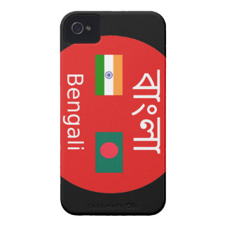 Bengali Language Design iPhone 4 Case-Mate Cases