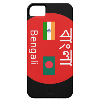 Bengali Language Design iPhone 5 Case