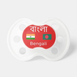 Bengali Language Design Pacifier