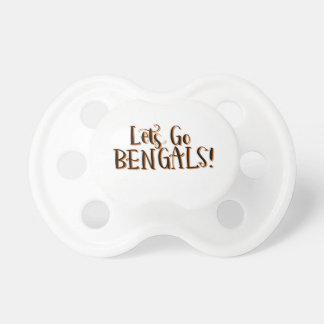 Bengals Print Pacifier
