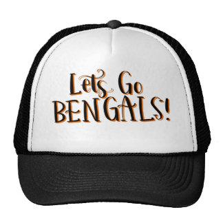 Bengals Print Trucker Hat