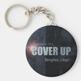 Benghazi Cover Up Basic Round Button Keychain