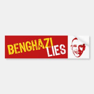 Benghazi Lies Bumper Sticker