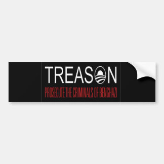 Benghazi Treason Bumper Sticker