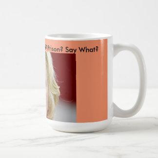 Benghazi Vince Foster Email Hillary Clinton Prison Coffee Mug