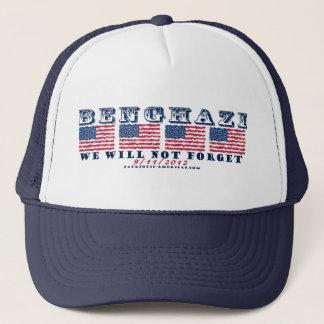 Benghazi - We Will Never Forget Trucker Hat