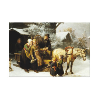 Bengt Nordenberg - Leaving Home Canvas Print