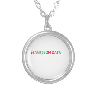 Bengtsson dates Halsband Round Pendant Necklace