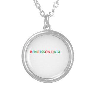 Bengtsson dates Halsband Round Pendant Necklace