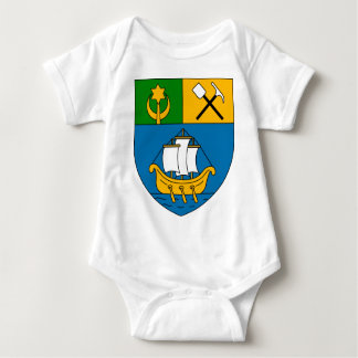 Béni_Saf_Coat_of_Arms_(French_Algeria) Baby Bodysuit