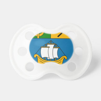 Béni_Saf_Coat_of_Arms_(French_Algeria) Baby Pacifier