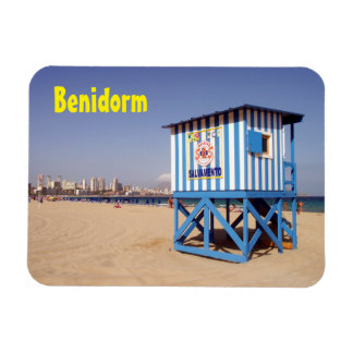 Benidorm, house of rescue in the beach magnet