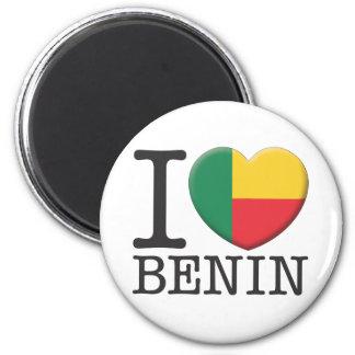 Benin 2 Inch Round Magnet