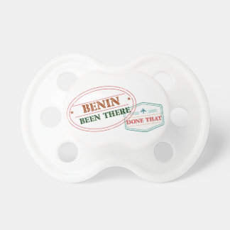 Benin Been There Done That Pacifier