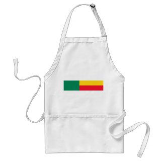 benin country long flag nation symbol standard apron