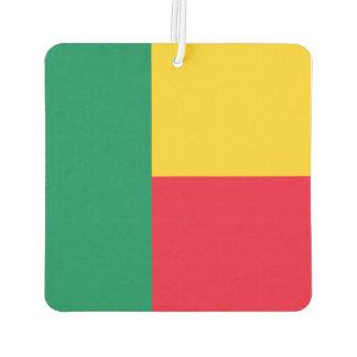 Benin Flag Air Freshener