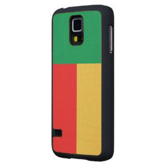 Benin Flag Maple Galaxy S5 Case