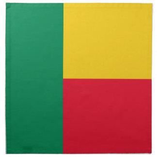 Benin Flag Napkin