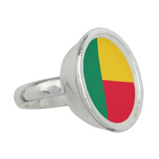 Benin Flag Ring
