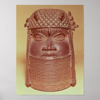 Benin mask poster