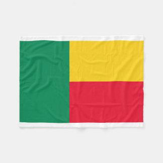Benin National World Flag Fleece Blanket