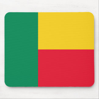 Benin National World Flag Mouse Pad