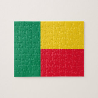 Benin National World Flag Puzzles