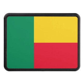 Benin National World Flag Trailer Hitch Cover