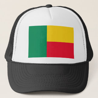 Benin National World Flag Trucker Hat