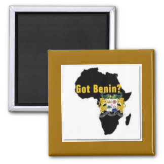 Benin Reublic Flag T-shirt And Etc Magnet