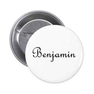 Benjamin 2 Inch Round Button