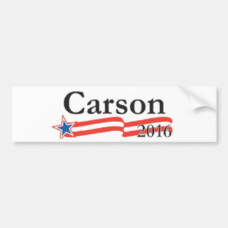 Benjamin Carson for President 2016 Bumper Sticker