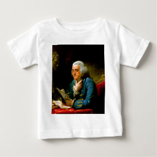 benjamin franklin 1767 writer natural scientists baby T-Shirt