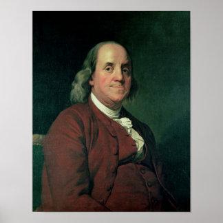 Benjamin Franklin, 1782 Poster