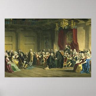Benjamin Franklin 1868 Poster