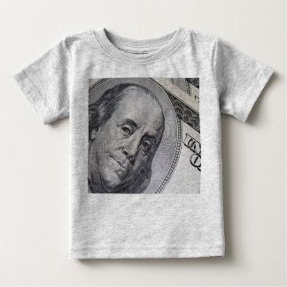 Benjamin Franklin Face Baby T-Shirt