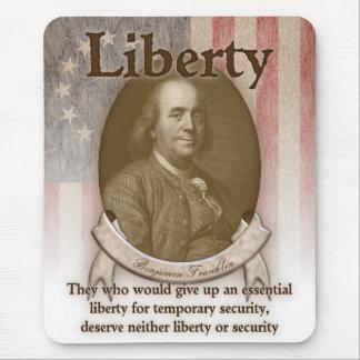 Benjamin Franklin – Liberty Mouse Pads