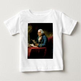 Benjamin Franklin Portrait Baby T-Shirt