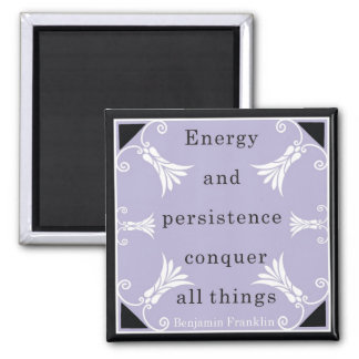 Benjamin Franklin Quote Magnet