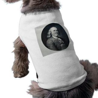 Benjamin Franklin - Vintage Magic Lantern Slide Pet Tee