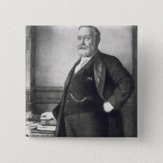Benjamin Harrison (1833-1901), 23rd President of t 2 Inch Square Button