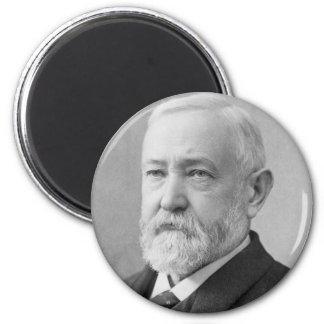 Benjamin Harrison 2 Inch Round Magnet