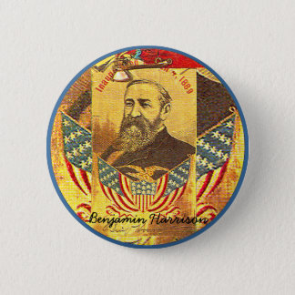 Benjamin Harrison - Button