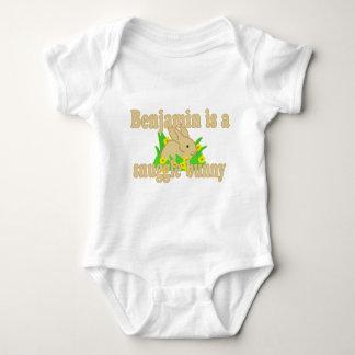 Benjamin is a Snuggle Bunny Baby Bodysuit