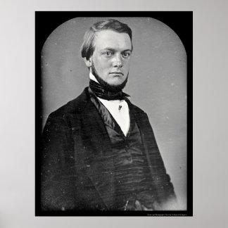 Benjamin Perley Poore Daguerreotype 1850 Poster