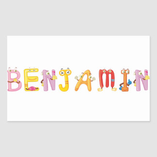 Benjamin Sticker