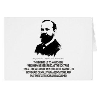 Benjamin Tucker Card