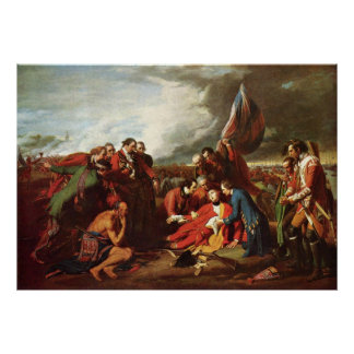 Benjamin West Death Of General Wolfe Poster